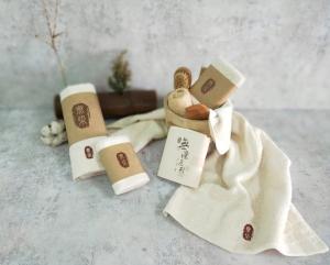 家庭包-無染經典2毛巾2方巾2隨手巾