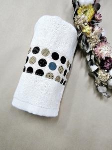 普普風咖啡毛巾
