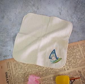 FUN數字紗布方巾-4