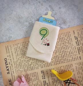 FUN數字紗布方巾-9