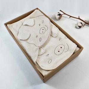 俏皮豬包巾禮盒