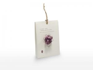 紫膠染-草木染手絹禮盒