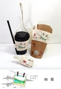 茶飲提袋(風景-相框)