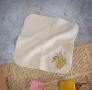 FUN數字紗布方巾-2