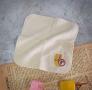FUN數字紗布方巾-6