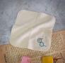 FUN數字紗布方巾-8