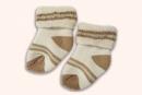 彩棉襪-棕