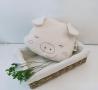 可愛豬枕頭