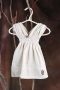 V-collar dress hand towel