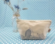 Hand painted style general purpose bags- blue whale